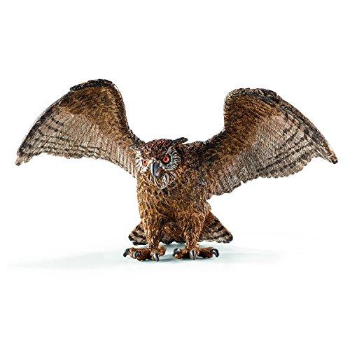 Schleich Eagle Owl Figurine Toy Figure (Eagle Owl)