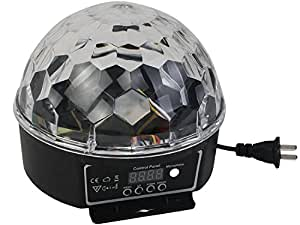 EconoLed Mini LED RGB Crystal Magic Ball Effect light DMX Disco DJ Stage Lighting