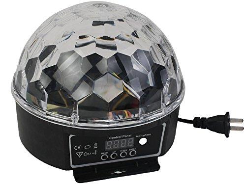 Price comparison product image EconoLed Mini LED RGB Crystal Magic Ball Effect light DMX Disco DJ Stage Lighting