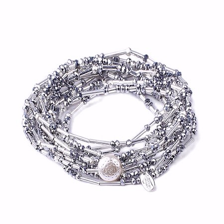 Roman Alexa's Angels Lord's Prayer Wrap-Silver/RHD