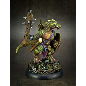 Amazon com: Lizardman Shaman Dark Heaven Legends Miniature