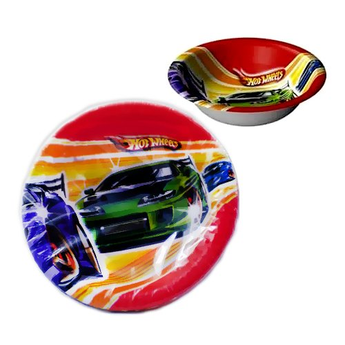 - Hot Wheels 'Fast Action' Paper Bowls (8ct)