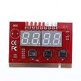 Diagnostic Card,LED 4 Digit Motherboard Analysis Tester POST Card For PC Desktop External Display