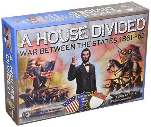 Mayfair Games A House Divided: War Between The States 1861-1864 (Best Civil War Board Games)