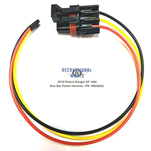 2018-2019 Polaris Ranger XP 1000/2018 RS1 Pulse Busbar Electrical Accessory Harness Plug - 16 Gauge Wire
