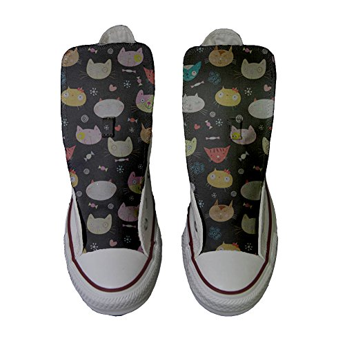All Little chaussures Kitten Converse Hi Star coutume produit artisanal My HvZZAR4W