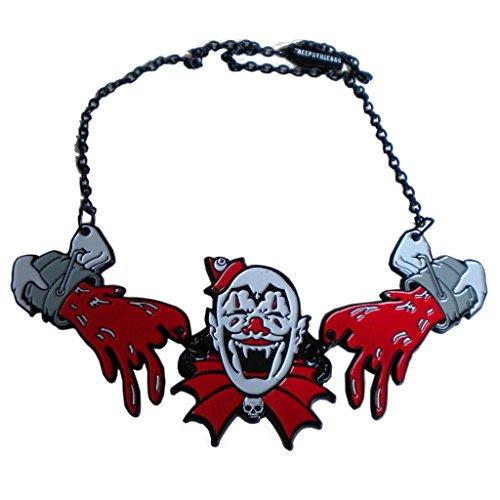 (Kreepsville 666 Horror Creepy Clown Necklace)