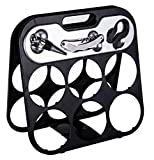 Best Clever Creations Wine Accessories - Modern Folding 6 Bottle Wine Rack with 3 Review