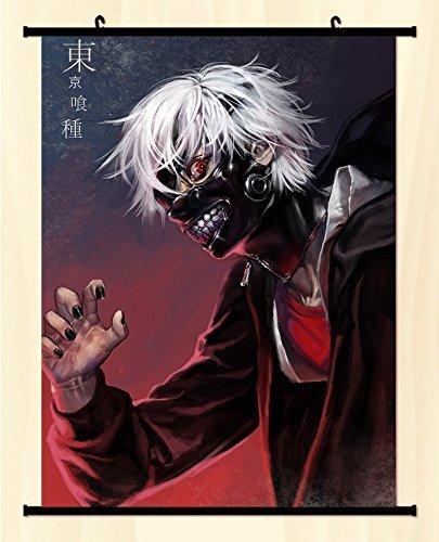 Popular Anime Tokyo Ghouls Kaneki Ken Home Decor Poster Wall Scroll Japanse -C09 by