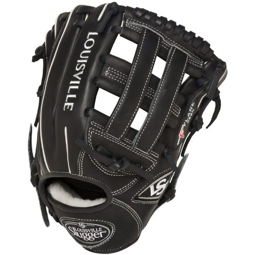 (Louisville Slugger 11.75-Inch FG Pro Flare Baseball Infielders Gloves, Black, Right Hand Throw)