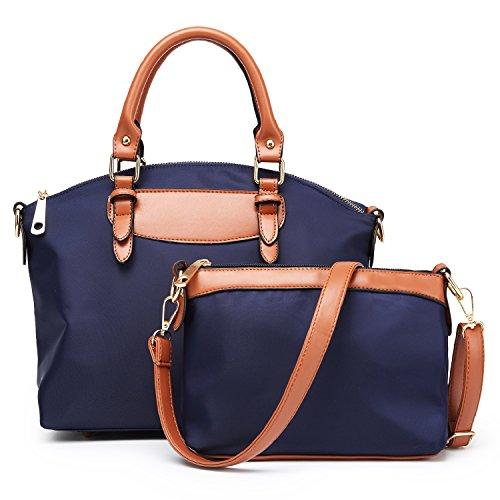Women Top Handle Handbags Ladies Bags Purses 2 PCS Set Tote Bags Crossbody Messenger Shoulder Bags Designer Satchel