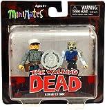 Walking Dead Minimates Series 3 Exclusive Mini FIgure 2-Pack Glenn & Vest Zombie