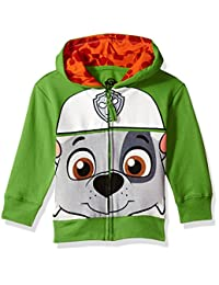 Paw Patrol boys Toddler Boys Rocky Costume Zip-up Hoodie