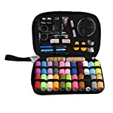 Chilie Portable Basic Sewing Accessories 24 Color Spools Thread Needwork Stitching Mini Sew Repair Tool Kit Travel Home