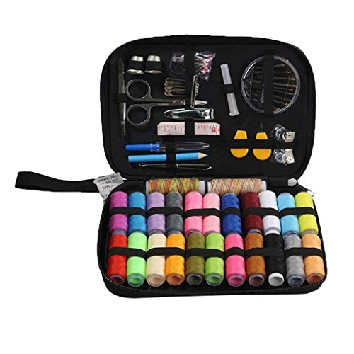 Chilie Portable Basic Sewing Accessories 24 Color Spools Thread Needwork Stitching Mini Sew Repair Tool Kit Travel Home by Chilie