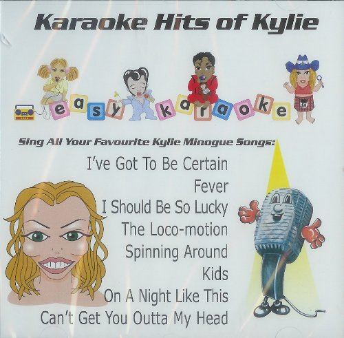 CD+G Easy Karaoke Disc, Hits of Kylie Minogue: Amazon.es: Música