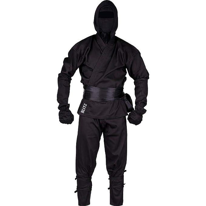 Blitz Ninja Traje - Negro, 4/170 cm: Amazon.es: Ropa y accesorios
