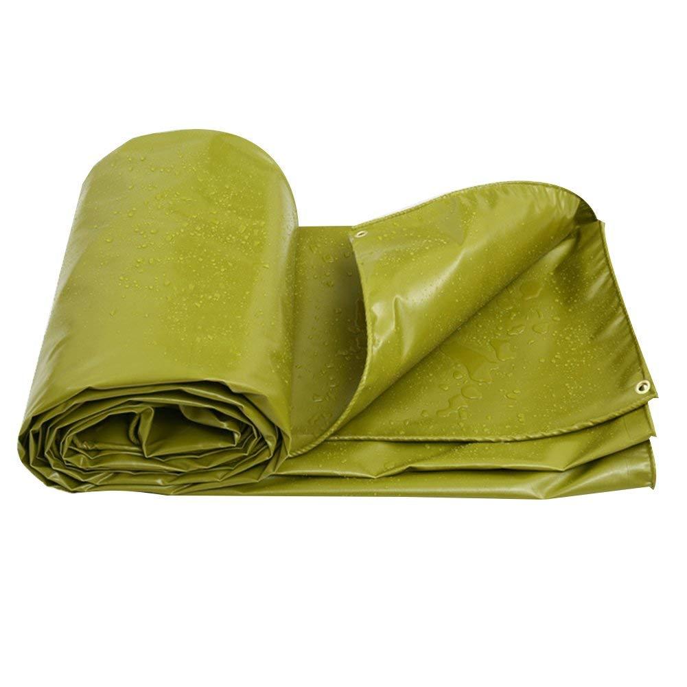 Regendichte Plane Plane Bodenabdeckungen Schupptuch Markise Zelt PVC Sonnenschutz Doppelseitig Wasserdicht Hochleistungsverstärkt Verdicken Outdoor, Grün, Mehrere Größen, 550G   M² ( größe   4x6m )
