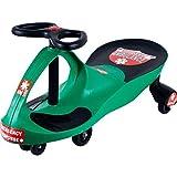 Lil' Rider 80-1288GR Responder Ambulance Wiggle Ride-On Car, Green