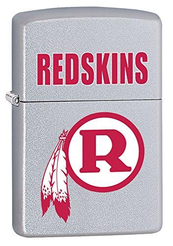 Zippo Lighter - NFL Throwback Washington Redskins Satin Chrome