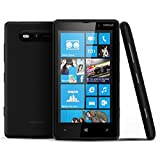 Nokia Lumia 820 8GB Unlocked GSM 4G LTE Windows 8 Cell Phone - Black