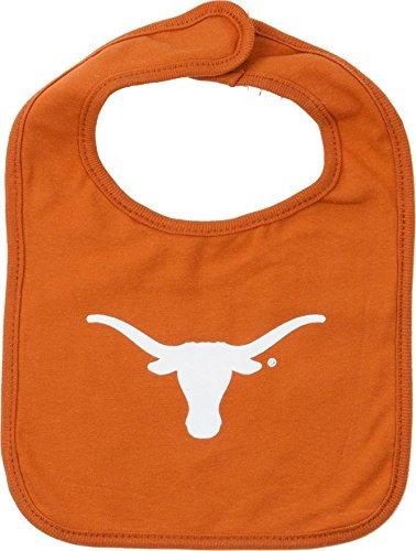 Texas Longhorns Baby Bib