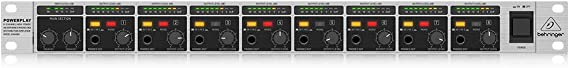 BEHRINGER 8-Channel High-Power Headphones Mixing and Distribution Amplifier