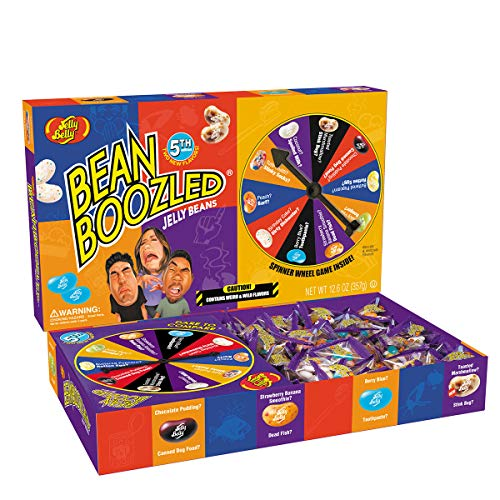 Jelly Belly BeanBoozled Jumbo Spinner Gift Box (5th Edition) - 12.6 oz Jelly Bean Game - Fun for The Whole Family - Official, Genuine, Straight from The Source (Edition New Bean Boozled)