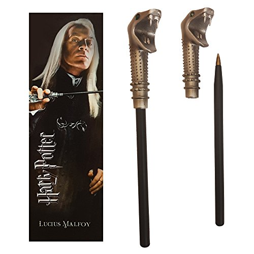 Harry Potter Lucius Malfoy Wand Pen and Bookmark