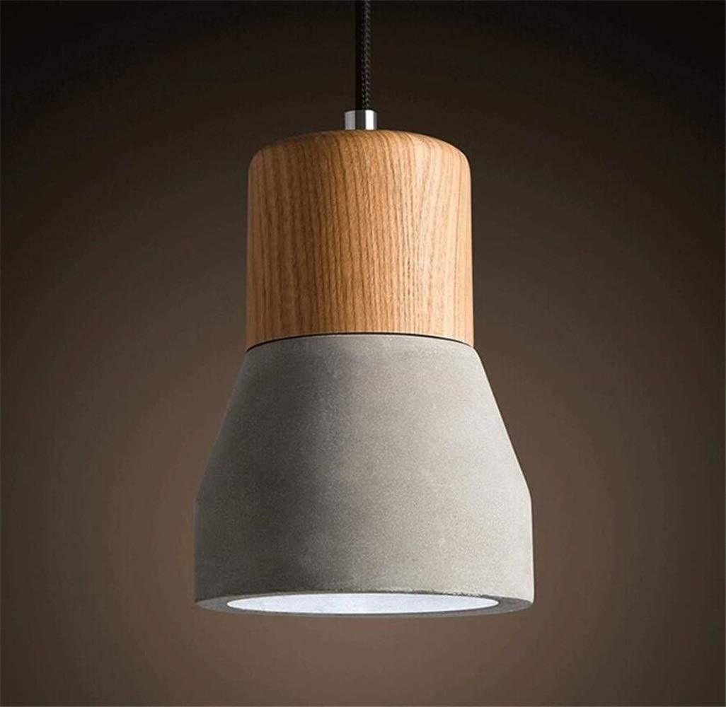 Eeayyygch Zement-industrielle Art-Deckenleuchte-hängende helle Leuchter, (& phi; 13cm  H 19.5cm) (Farbe   -, Größe   -)