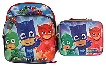 Amazon Com Disney Junior Pj Masks Backpack Amp Lunch Box