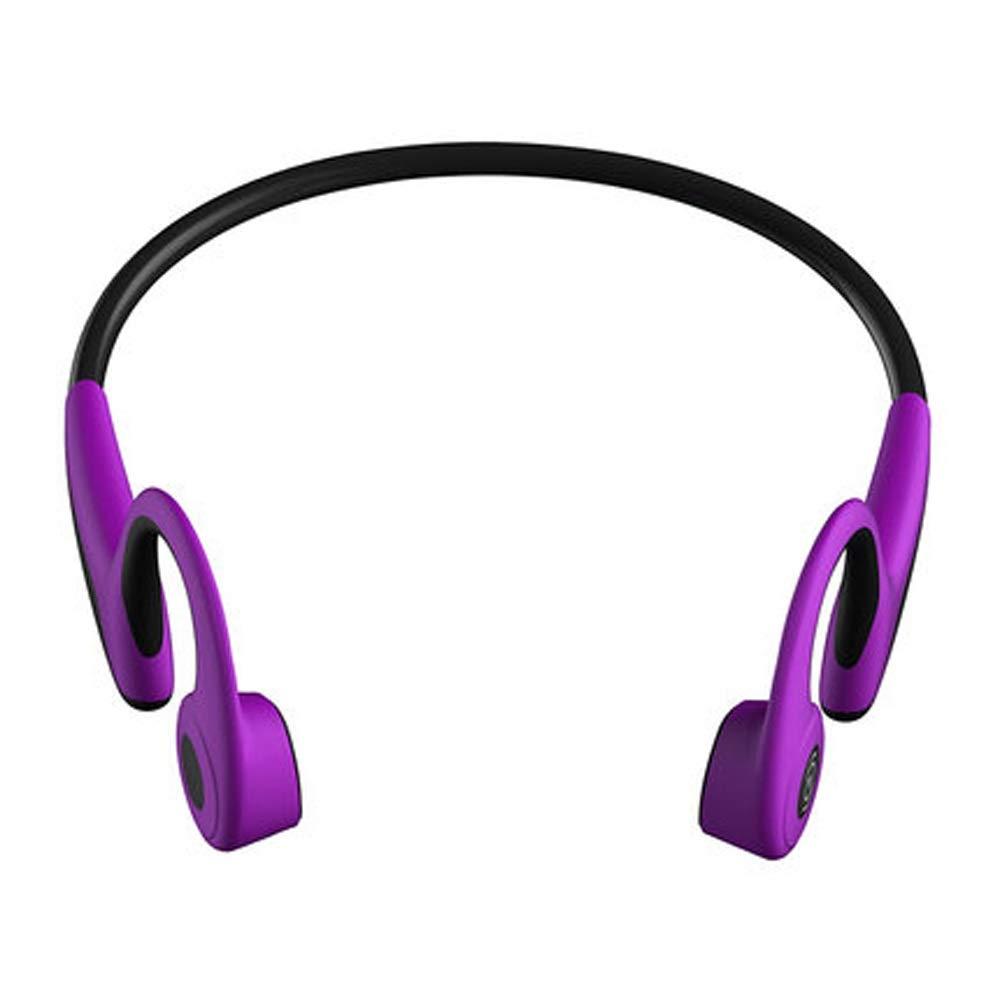 ヘッドフォン - ブルートゥースヘッドセット - ワイヤレススポーツブルートゥースヘッドセット - 骨伝導 - スポーツ - 電話 (Color : B)   B07RD7Z3ZK