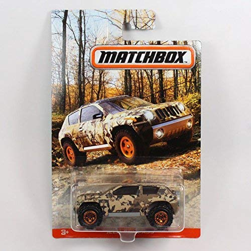 Matchbox 2017 camouflage series Jeep Compass [parallel import goods] ()