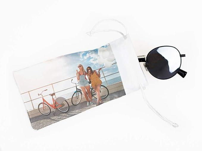 Funda de gafas de sol personalizada con tu foto o texto de ...