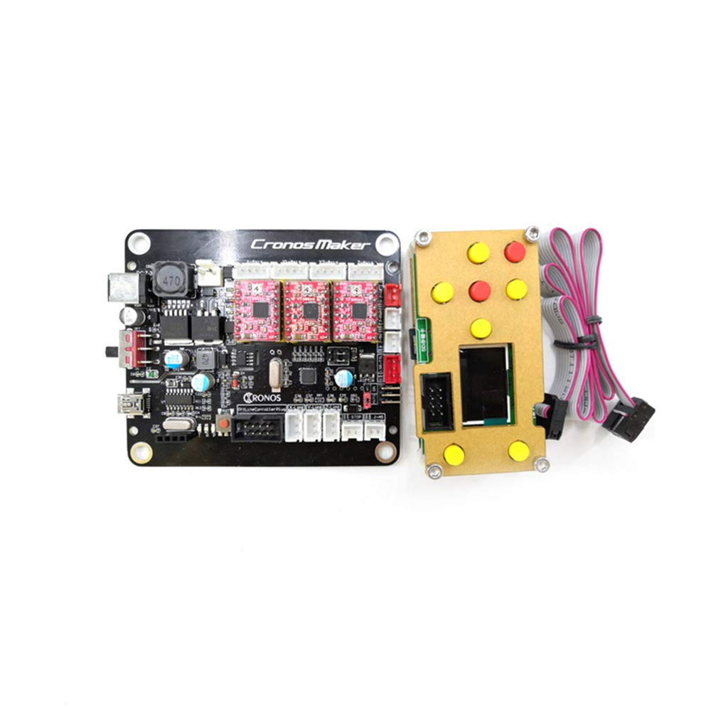 PW 3-Axis GRBL USB Driver Controller Board DIY Engraver Control Board for GRBLCNC router for CNC 3018 CNC 1610 CNC 2418 Off-Line controller laserGRBL pcb pvb Milling machine, Wood Router