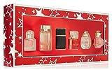 Women's 6 Piece Perfume Coffret Gift Set Travel Size