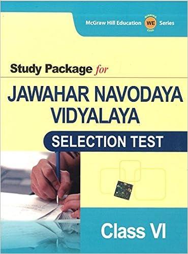 buy study package for jawahar navodaya vidyalaya selection test for