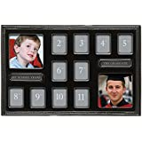 Grasslands Road 12 Year Grads Multi Opening Ceramic Frame, Black,  9 3/4 x 14 7/8 Inch