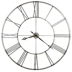 Howard Miller Stockton Wrought Iron Wall Clock
