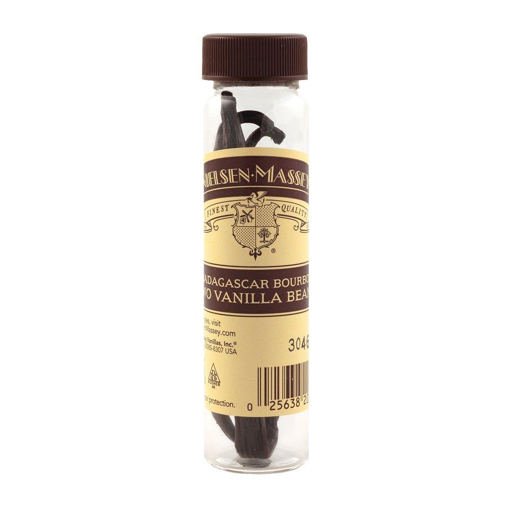 Nielsen-Massey Madagascar Bourbon Vanilla Beans, 2-Bean Vial