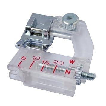 tfboy suministros de costura cinta vinculante máquina de coser pie prensatelas para baja vástago snap-