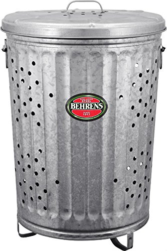 Behrens RB20 Trash Burner/Composter with Cover, 20 Gallon product image