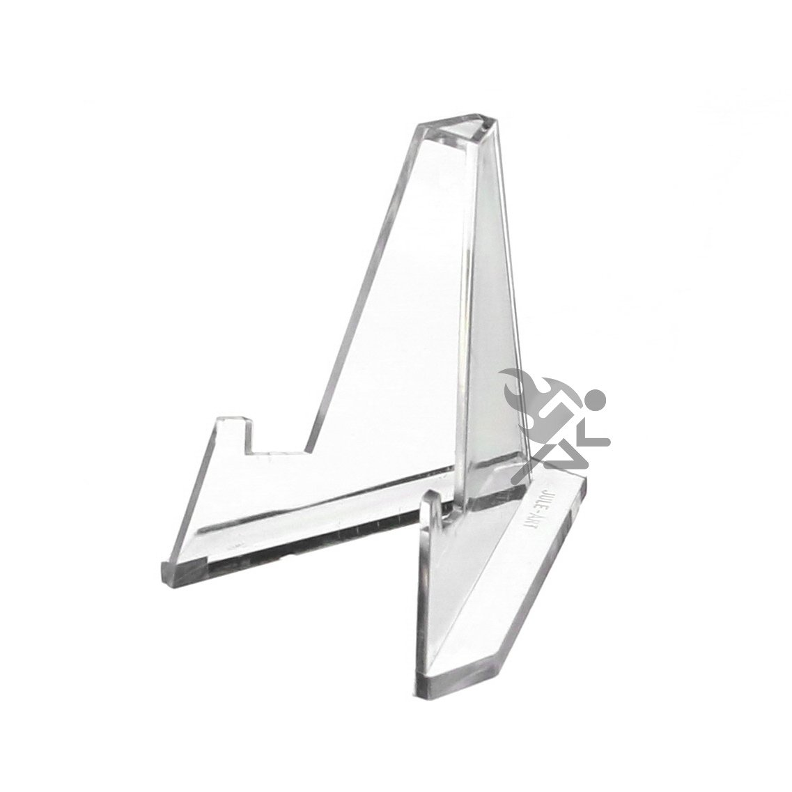 Set of 12 Mini Acrylic Easel Stands, 2.25H 2.25H Display Stands