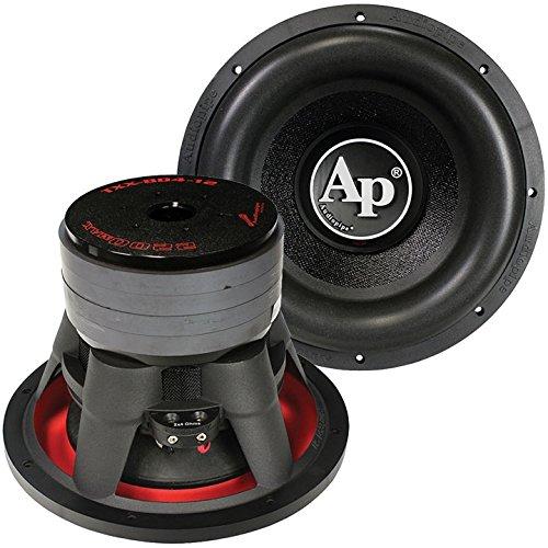 12-inch 2200W Dual 4 Ohm Woofer Car Audio Car Woofers For Sound System - Black