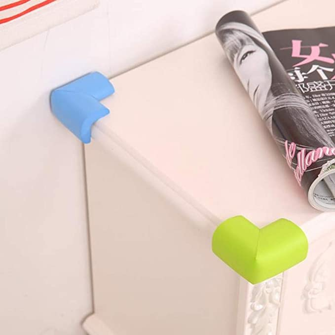 5Pcs Baby Safety Protector Glass Table Desk Corners Edge Cushion Guard Bumper AL