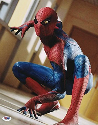 Andrew Garfield Spider-Man Signed Authentic 11X14 Photo PSA/DNA #T22328