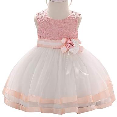 LADYLUCK Vestido Fiesta Niña Vestido De Princesa Niña para ...