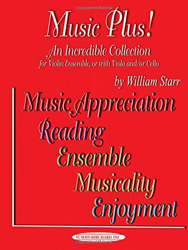 Download Music Plus! An Incredible Collection: Violin Ensemble, or with Viola and/or Cello PDF
