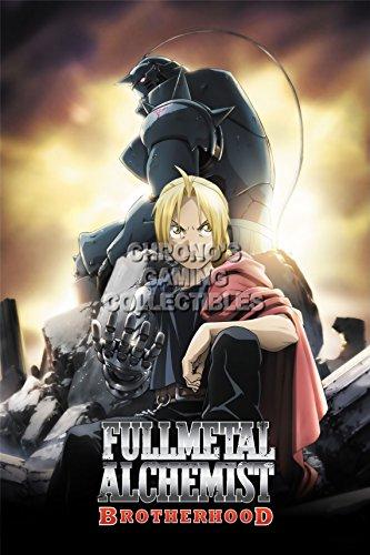 CGC Huge Poster - FullMetal Alchemist Anime Poster Brotherhood Full Metal Hagane no Renkinjutsushi - FMA023 (24