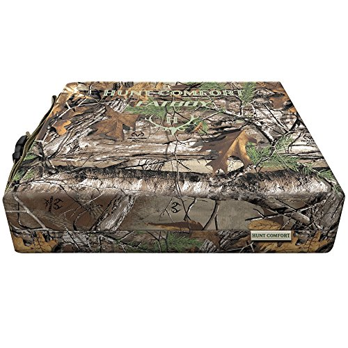 HCSC75G Hunt Comfort Ultra-Premium Gel Core Fatboy Cushion Realtreex